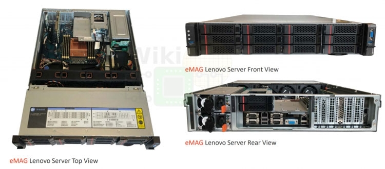 Серверы Lenovo на процессорах eMAG (WikiChip)