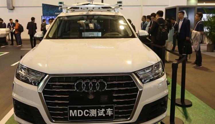 """Audi и Huawei создадут центр разработки самоходных автомобилей в Китае"""""""