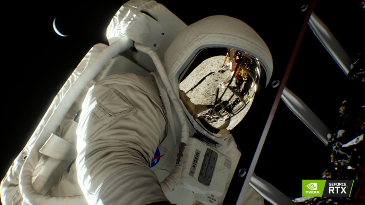 Видео: NVIDIA показала демонстрацию RTX на примере высадки на Луну