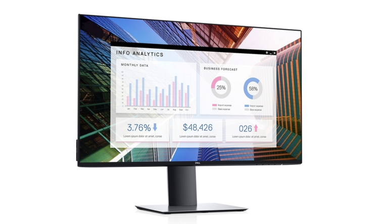 "Монитор Dell UltraSharp U2719D получил безрамочный дизайн"""