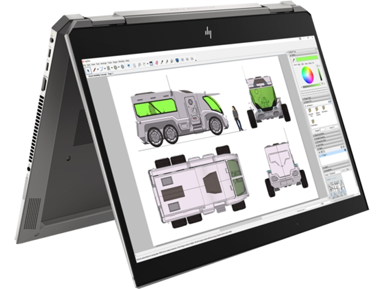 "HP начала поставку ноутбуков ZBook с процессорами Core i9, видеокартой NVIDIA Quadro P2000 и оперативной памятью до 128 Гбайт"""