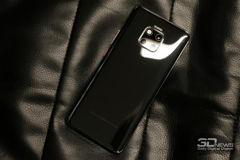 Черный вариант Huawei Mate 20 Pro