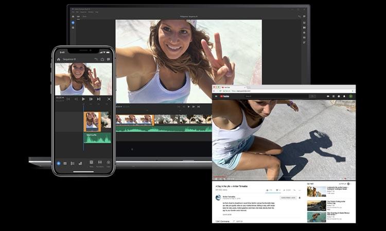 """Adobe представила Premiere Rush для ПК и iOS; на Android выйдет позже"""""""