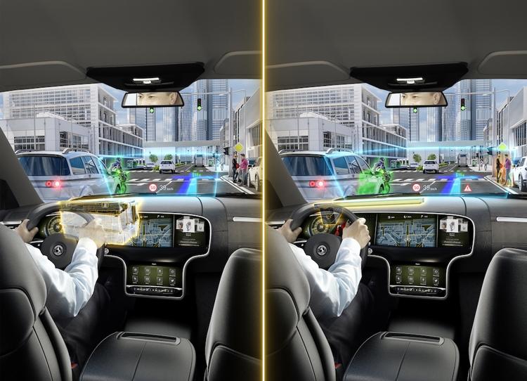 """Continental создала передовой дисплей Head-Up с технологией дополненной реальности"""""""