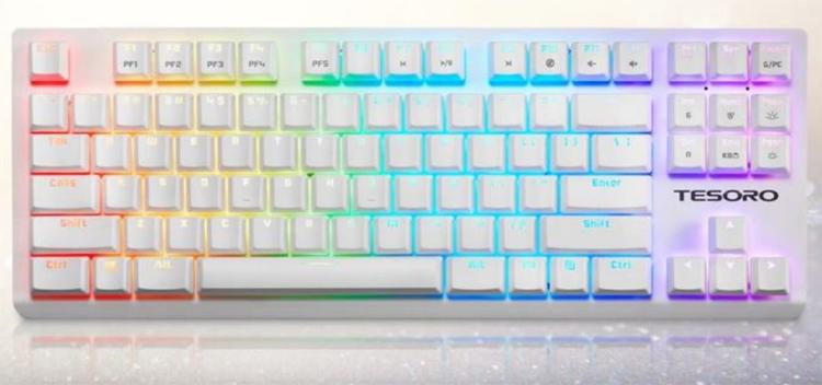 "Tesoro GRAM Spectrum TKL: компактная клавиатура механического типа"""