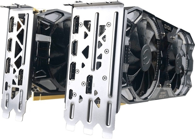EVGA GeForce RTX 2070 XC Ultra и XC Ultra