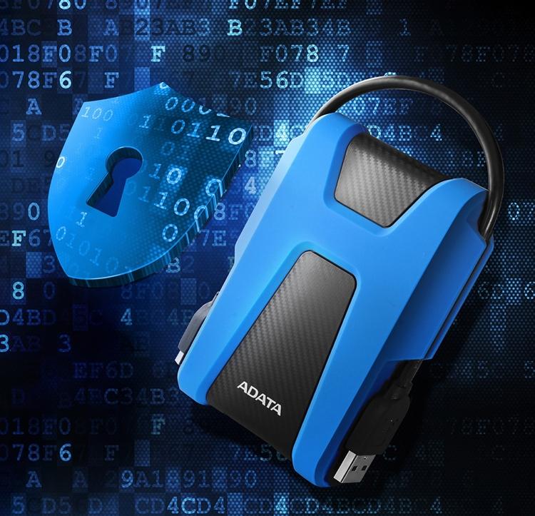 """ADATA HD680: портативный жёсткий диск повышенной прочности"""""""