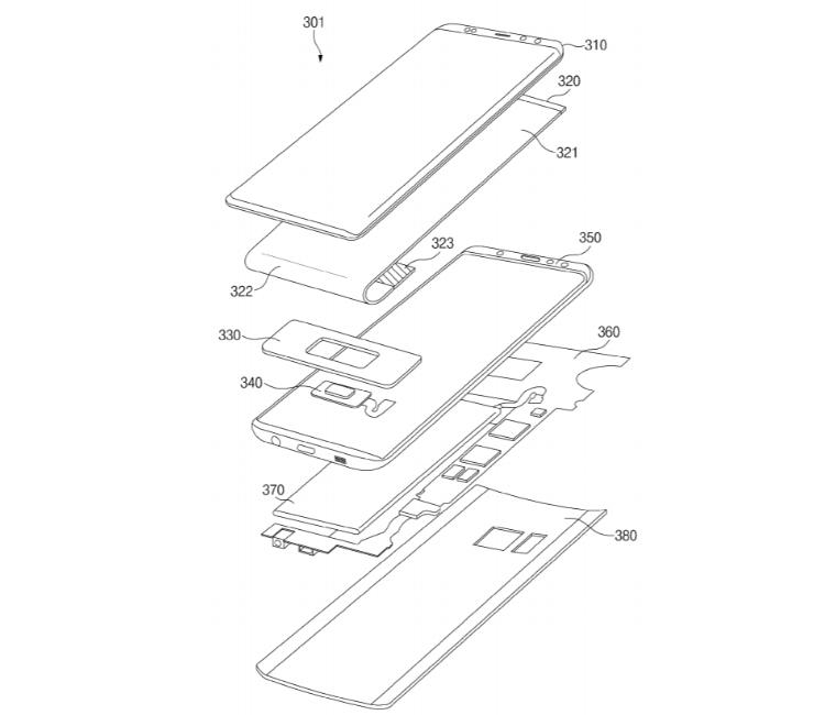 """Samsung патентует экранный дактилоскопический сканер для смартфонов"""""""
