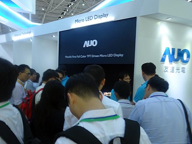 """AUO показала 12,1-дюймовый дисплей MicroLED"""""""
