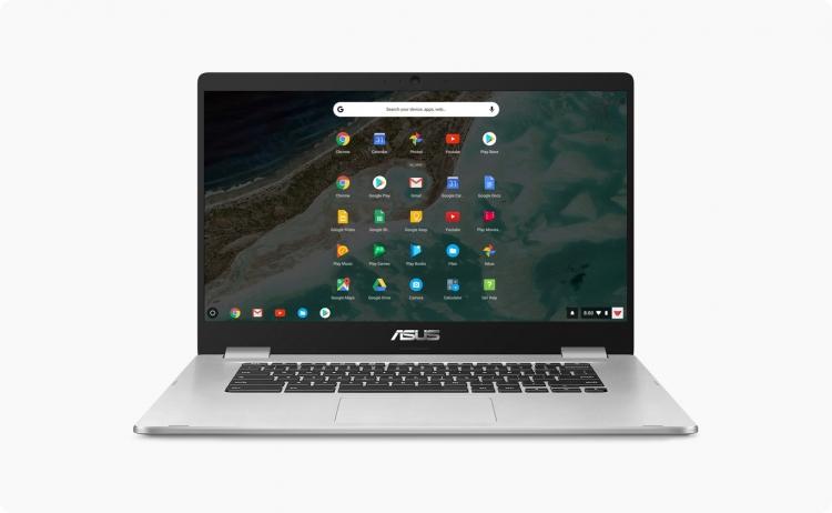 """ASUS представила свой первый 15-дюймовый хромбук — Chromebook C523"""""""