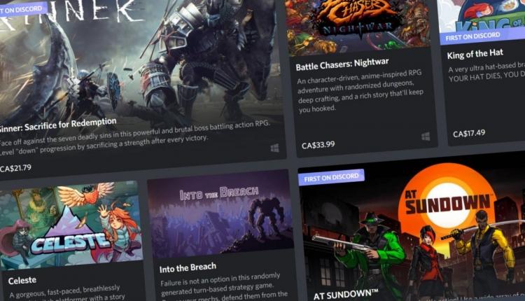 """В мессенджере Discord запустили бета-версию магазина игр, но есть нюанс"""""""
