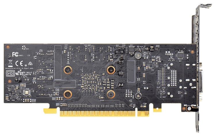 Часть контактов разъёма PCI Express 3.0 не задействованы