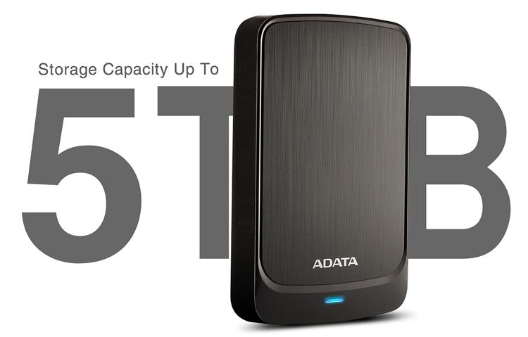 """ADATA HV320: карманный жёсткий диск вместимостью до 5 Тбайт"""""""