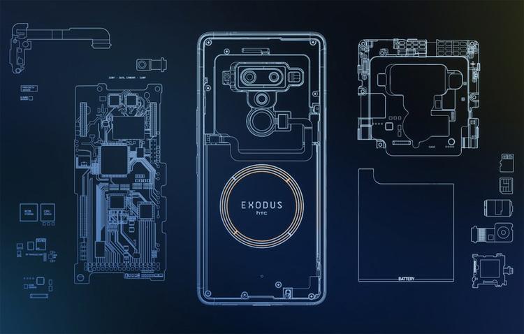 """HTC Exodus 1: блокчейн-смартфон с ценой в биткоинах"""""""
