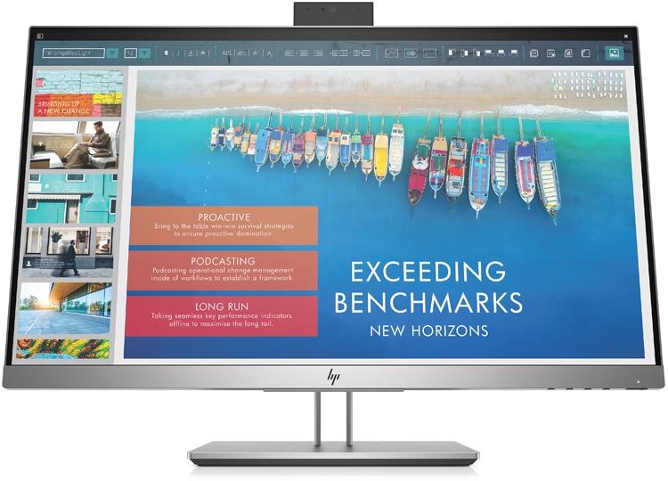 """HP EliteDisplay E243d: монитор с веб-камерой и портом USB Type-C"""""""