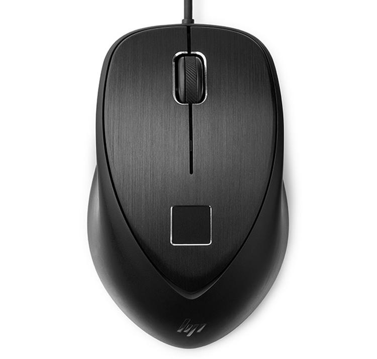 """Мышь HP USB Fingerprint Mouse умеет сканировать отпечатки пальцев"""""""