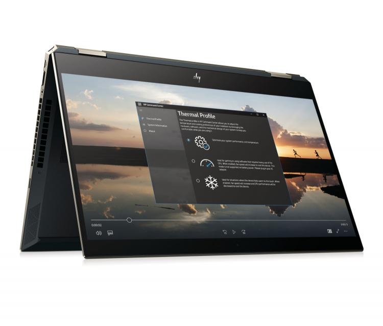 """Обновлённый ноутбук HP Spectre x360 обеспечивает до 22,5 ч автономной работы"""""""