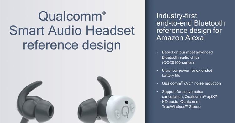 """Qualcomm показала гарнитуру эталонного дизайна с поддержкой Alexa"""""""