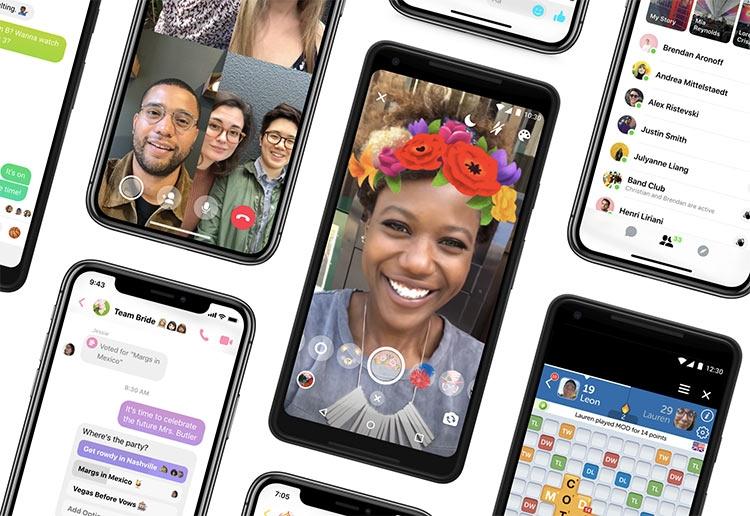 """Facebook представила новый Messenger 4 с упрощённым дизайном"""""""