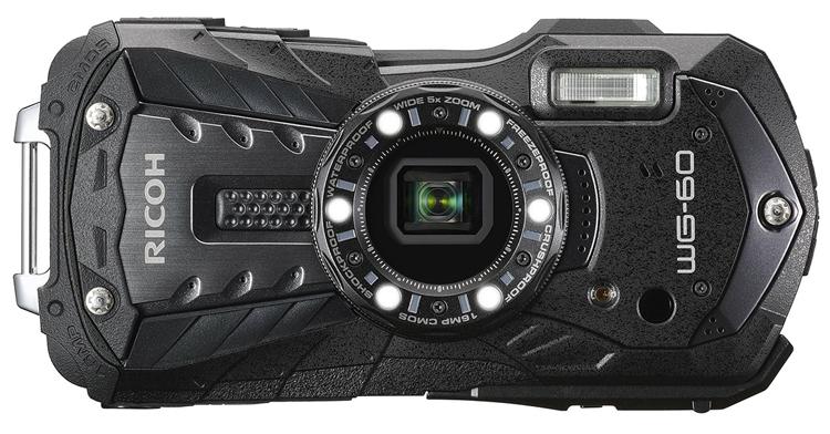 """Ricoh WG-60: защищённая фотокамера с поддержкой карт FlashAir Wi-Fi SD"""""""