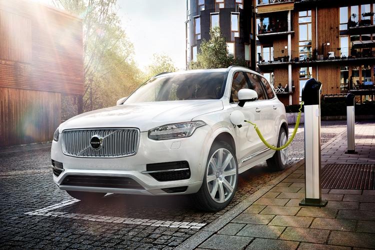 """Volvo поддержит разработку передовых станций быстрой подзарядки электромобилей"""""""