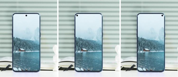 """Samsung выпустит смартфон Galaxy A8s с отверстием в дисплее"""""""
