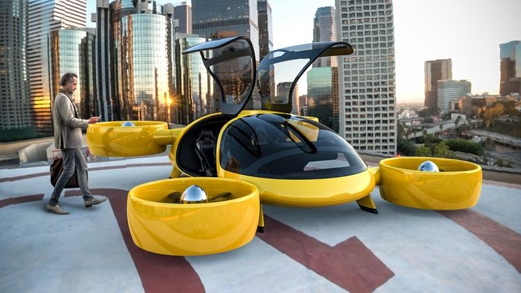 """В России создан прототип летающего такси будущего"""""""