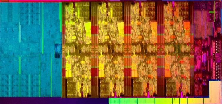 Восьмиядерный полупроводниковый кристалл Coffee Lake Refresh