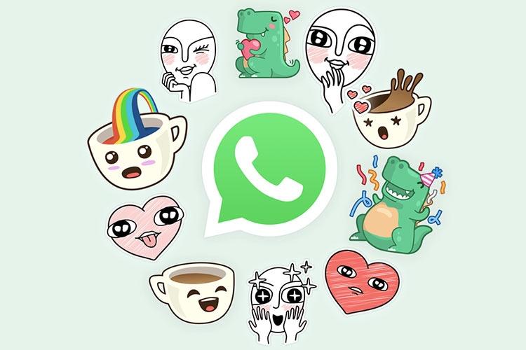 """В WhatsApp наконец появились стикеры"""""""