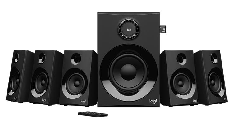 """Logitech Z607: аудиосистема формата 5.1 с поддержкой Bluetooth"""""""