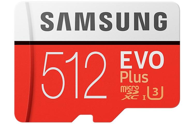 Карта памяти Samsung microSDXC 512 Гб