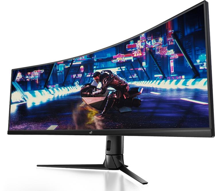 """ASUS ROG Strix XG49VQ: гигантский монитор для игровых систем"""""""