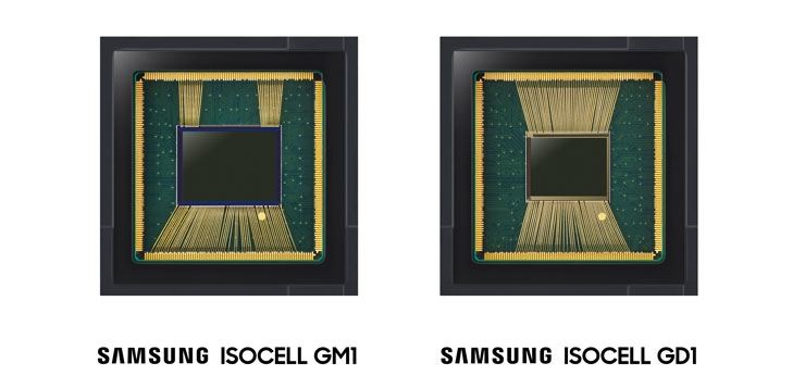 Камеры Samsung Isocell Bright GM1 и Isocell Bright GD1