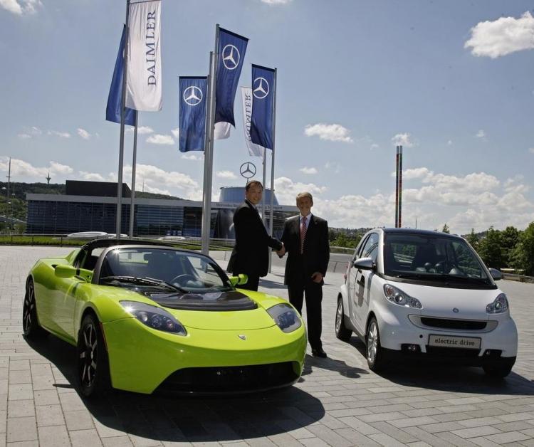 """Mercedes-Benz может вновь вернуться к партнёрству с Tesla"""""""