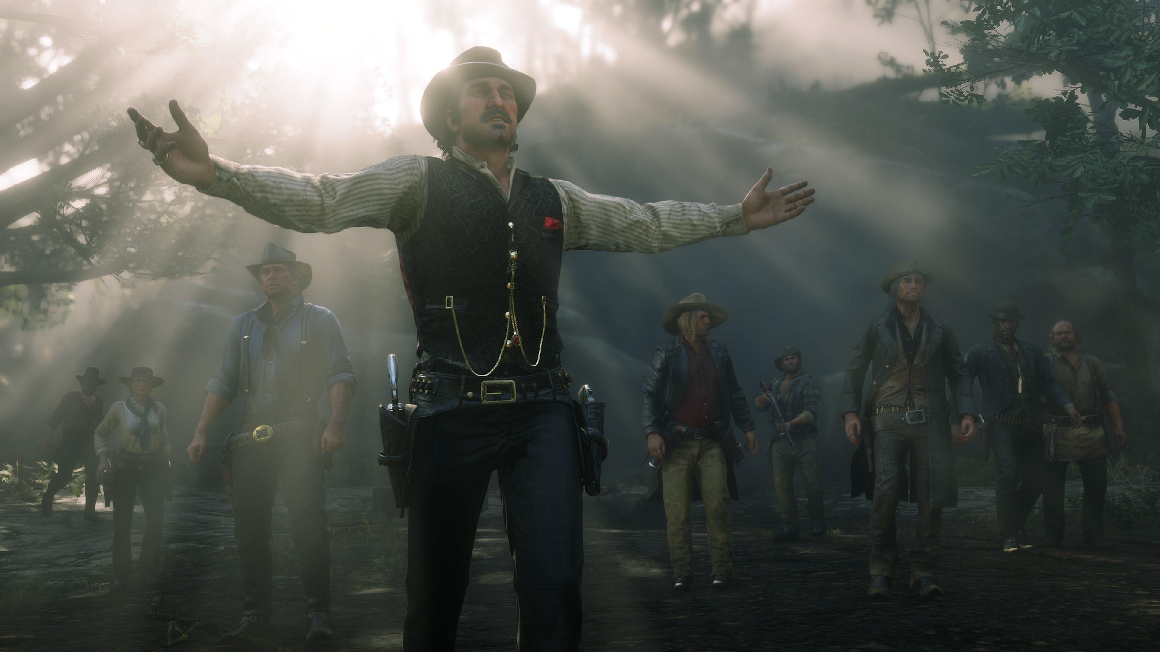 Игра Red Dead Redemption 2 заработала рекордную сумму завыходные продаж