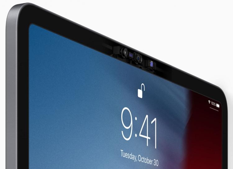 """Планшеты iPad Pro получили новый дизайн, чип A12X и Face ID"""""""