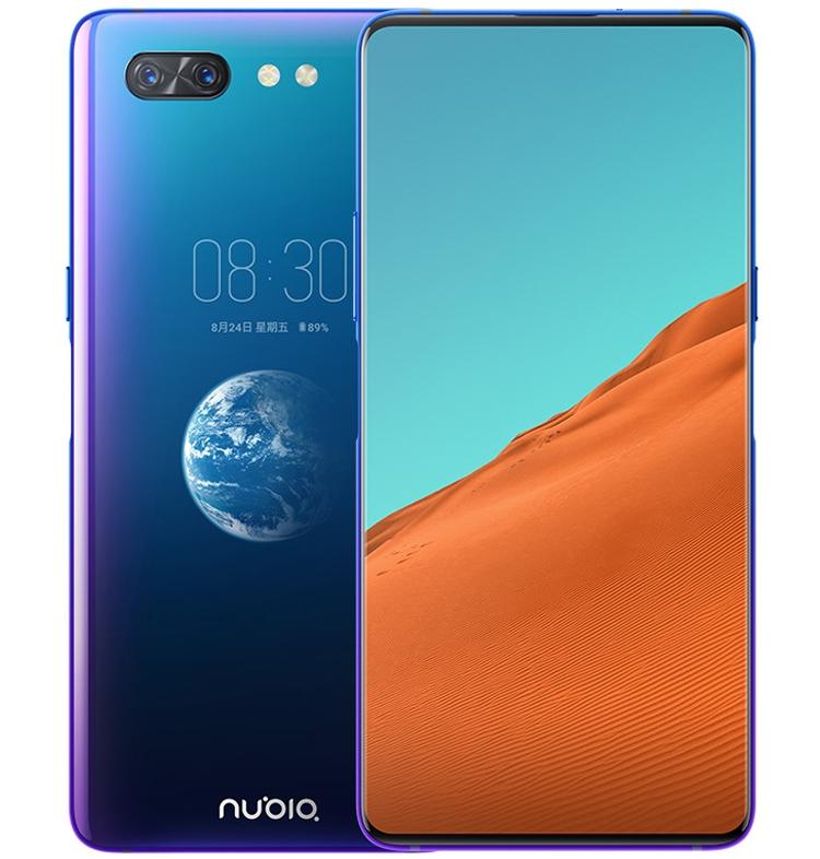 "Nubia X: мощный смартфон с двумя дисплеями"""