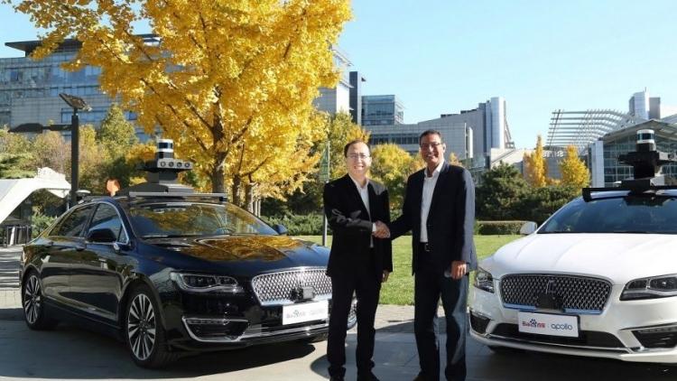 """Ford и Baidu запустили совместный проект для тестирования технологий четвёртого уровня автономности"""""""