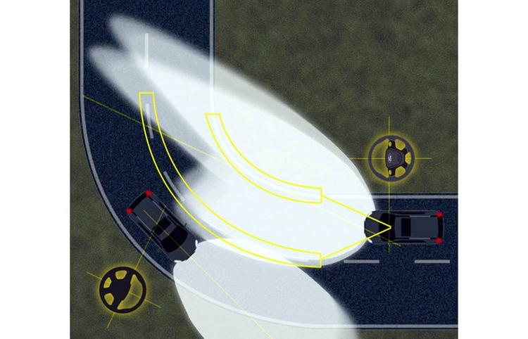"""Фары автомобилей Ford смогут менять освещение с учётом знаков и разметки"""""""