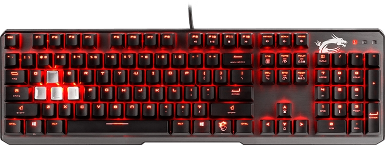 """Клавиатура MSI Vigor GK60 подходит для игр и повседневного использования"""""""