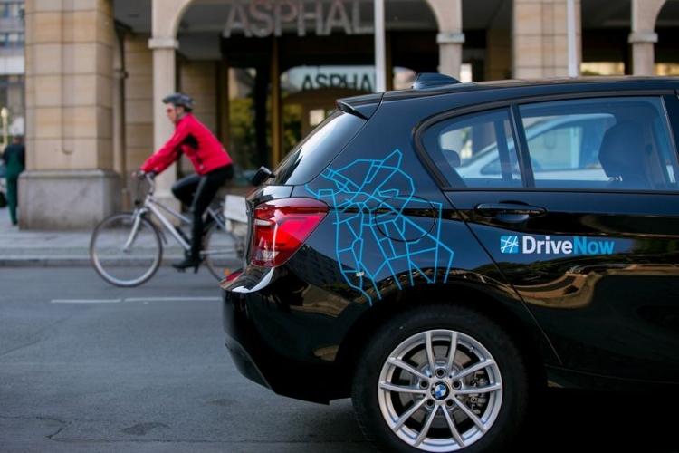 """Сервис каршеринга DriveNow компании BMW теперь работает в 9 районах Лондона"""""""