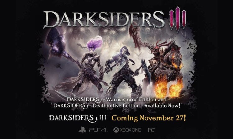 Darksiders и Darksiders II получат улучшения для Xbox One X