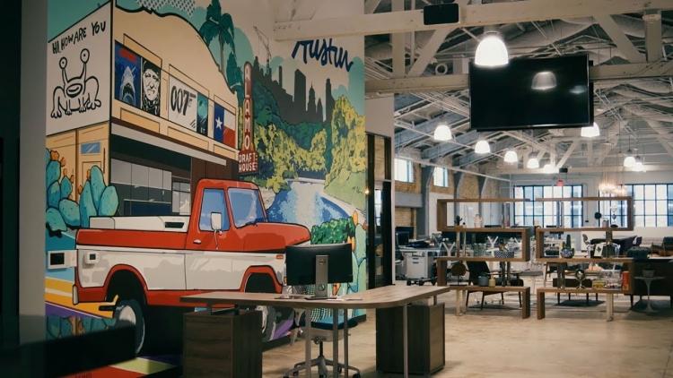 Офис «передовых технологий» компании Walmart в Остине