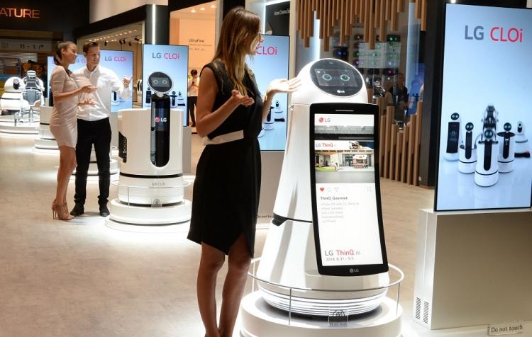 """LG разработает смарт-тележку для супермаркетов"""""""
