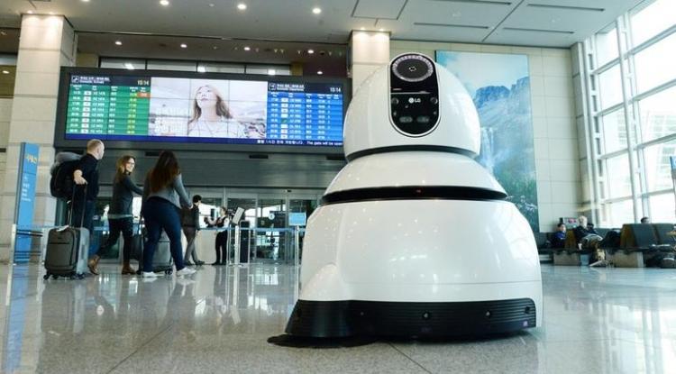 Робот-уборщик LG