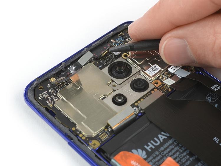 """Вскрытие Huawei Mate 20 Pro: смартфон обладает посредственной ремонтопригодностью"""""""