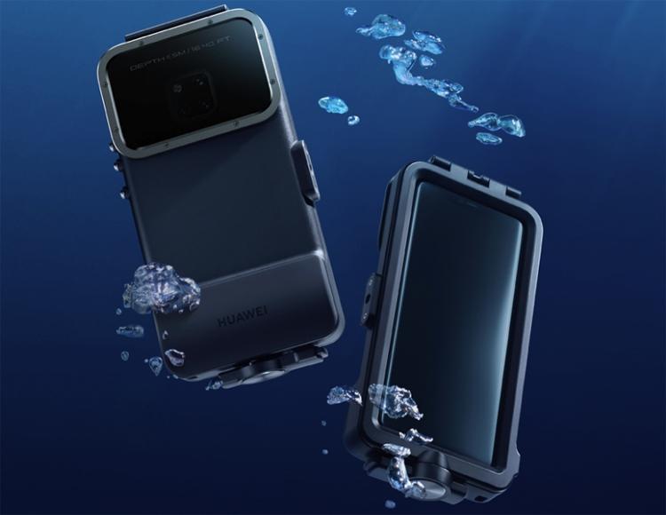"""Футляр Diving Case превратит смартфон Huawei Mate 20 Pro в камеру для подводной съёмки"""""""
