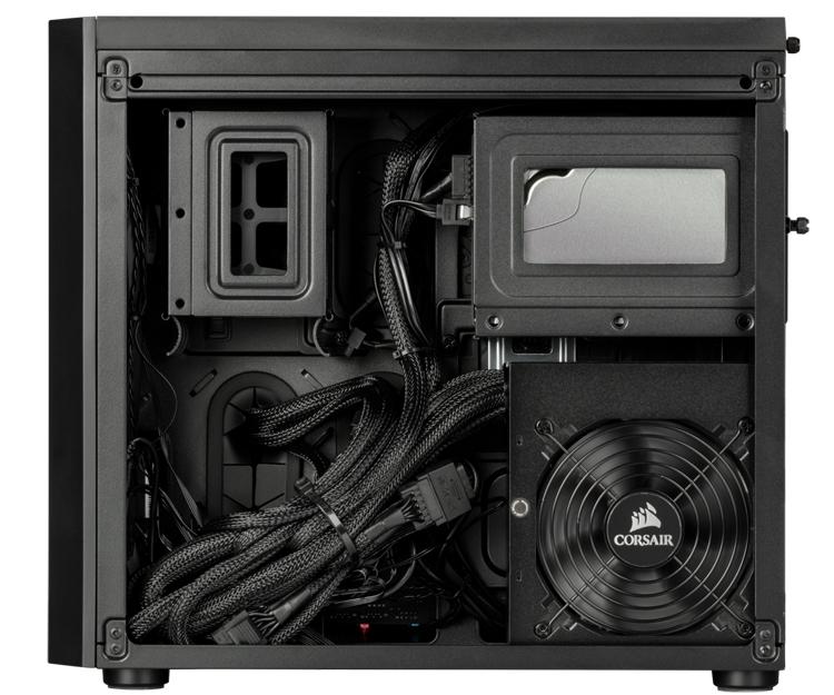 """Corsair Vengeance 5180 Gaming PC: игровой компьютер в двухсекционном корпусе"""""""