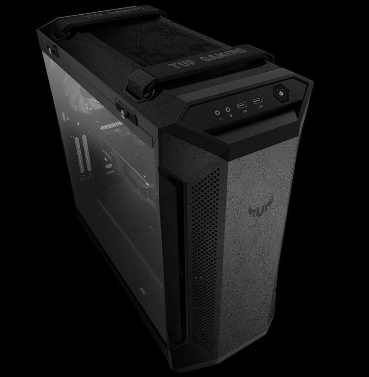 """ПК-корпус ASUS TUF Gaming GT501 допускает установку видеокарт длиной до 420 мм"""""""