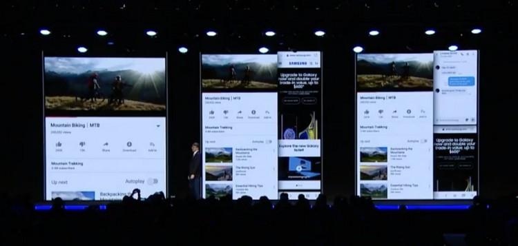 "Samsung показала смартфон с гибким дисплеем Infinity Flex"""